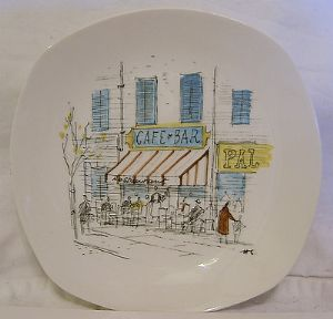 Midwinter 'Cannes' 6 inch Plate - 1960s - SOLD